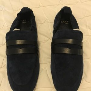 LANVIN Paris Chaussure Loafers Loafer Shoe inkBlue
